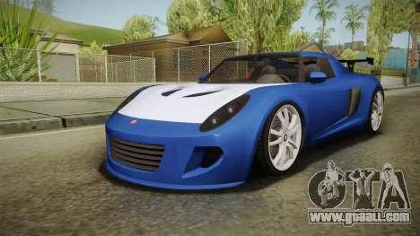 GTA 5 Voltic for GTA San Andreas