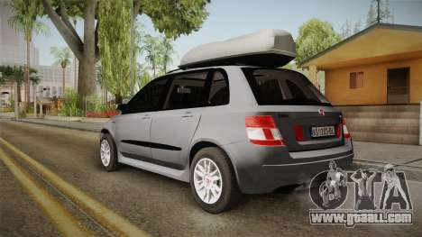 Fiat Stilo Weekend for GTA San Andreas left view