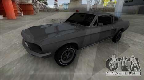 1967 Ford Mustang FBI for GTA San Andreas