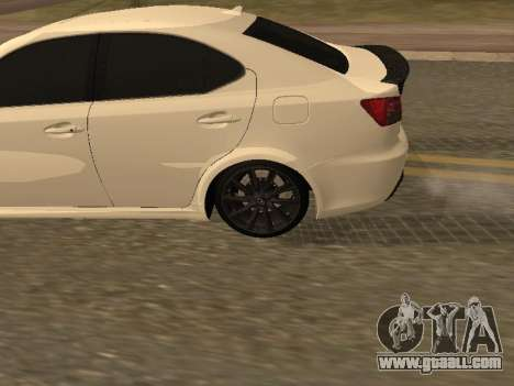 Lexus IS F Armenian for GTA San Andreas right view