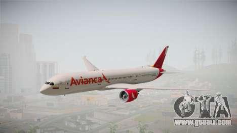 Boeing 787 Avianca for GTA San Andreas