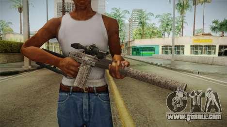 Survarium - VSK-94 Camo for GTA San Andreas third screenshot
