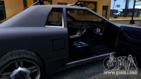 Elegy JDM for GTA San Andreas inner view