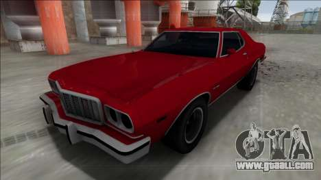 1975 Ford Gran Torino for GTA San Andreas back left view