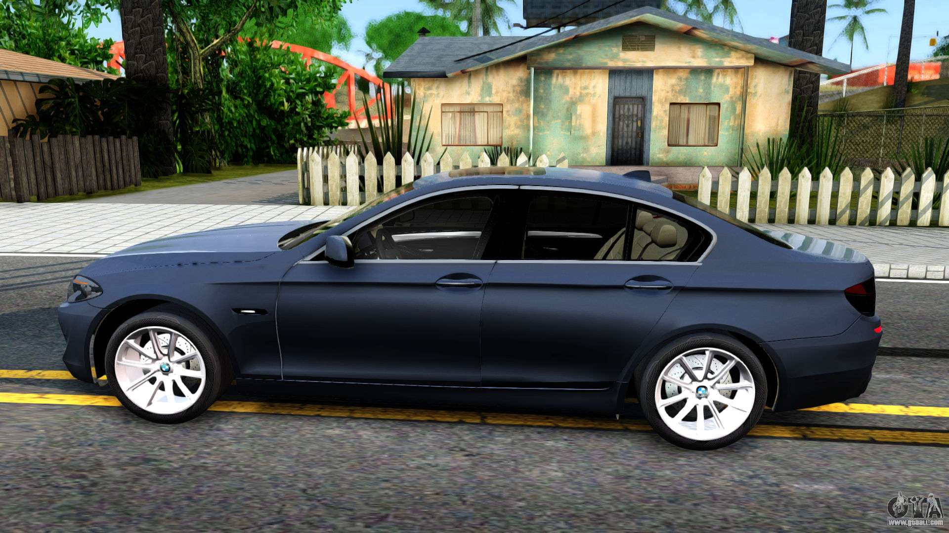 bmw 520d f10 2012 for gta san andreas. Black Bedroom Furniture Sets. Home Design Ideas