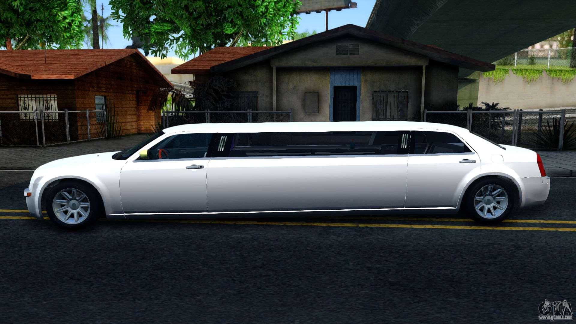 chrysler 300c limo 2007 ivf for gta san andreas. Black Bedroom Furniture Sets. Home Design Ideas