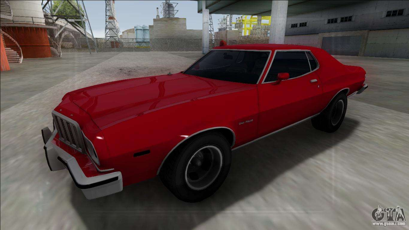 1975 ford gran torino for gta san andreas. Black Bedroom Furniture Sets. Home Design Ideas