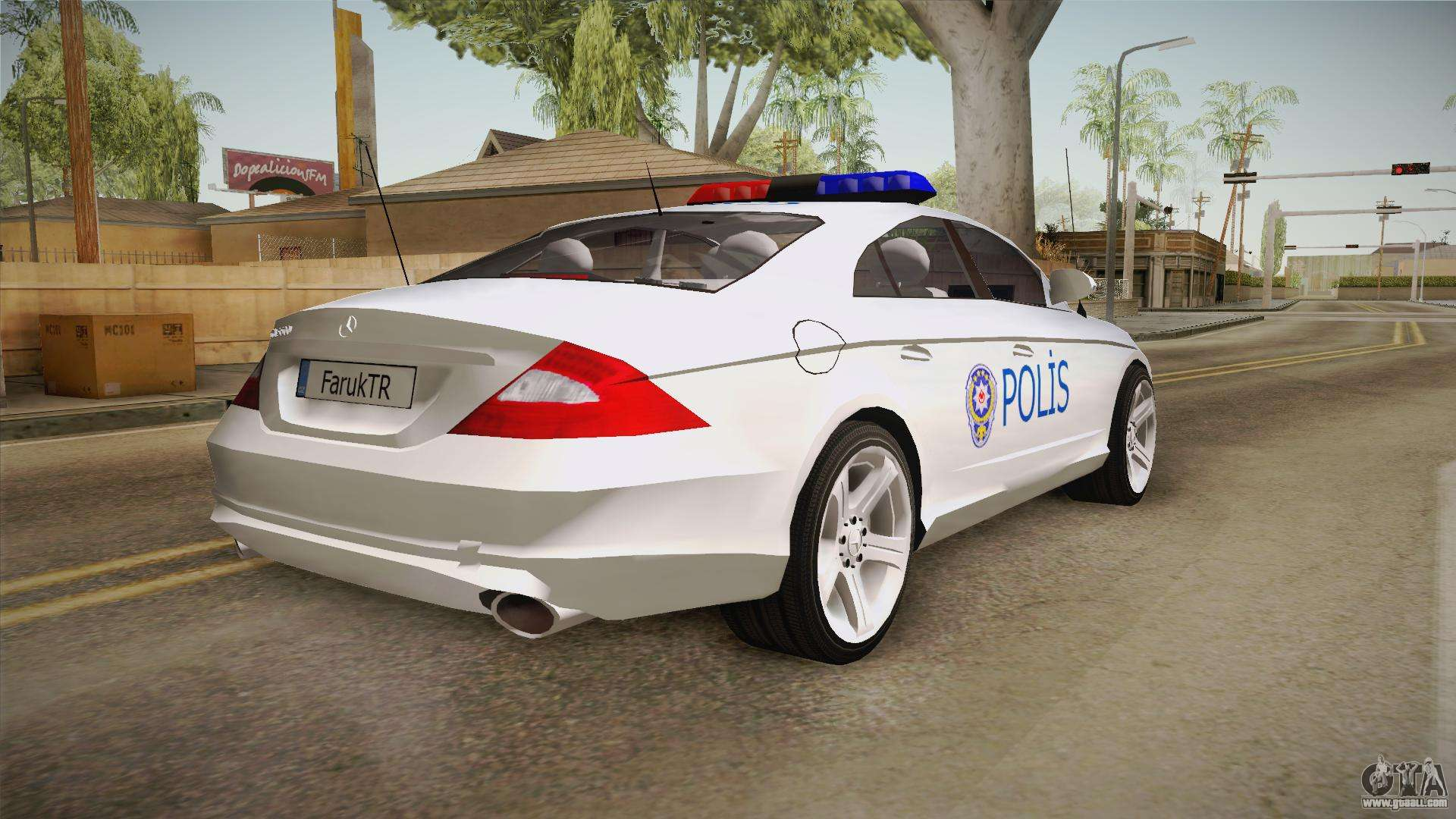 mercedes benz cls 500 turkish police for gta san andreas. Black Bedroom Furniture Sets. Home Design Ideas