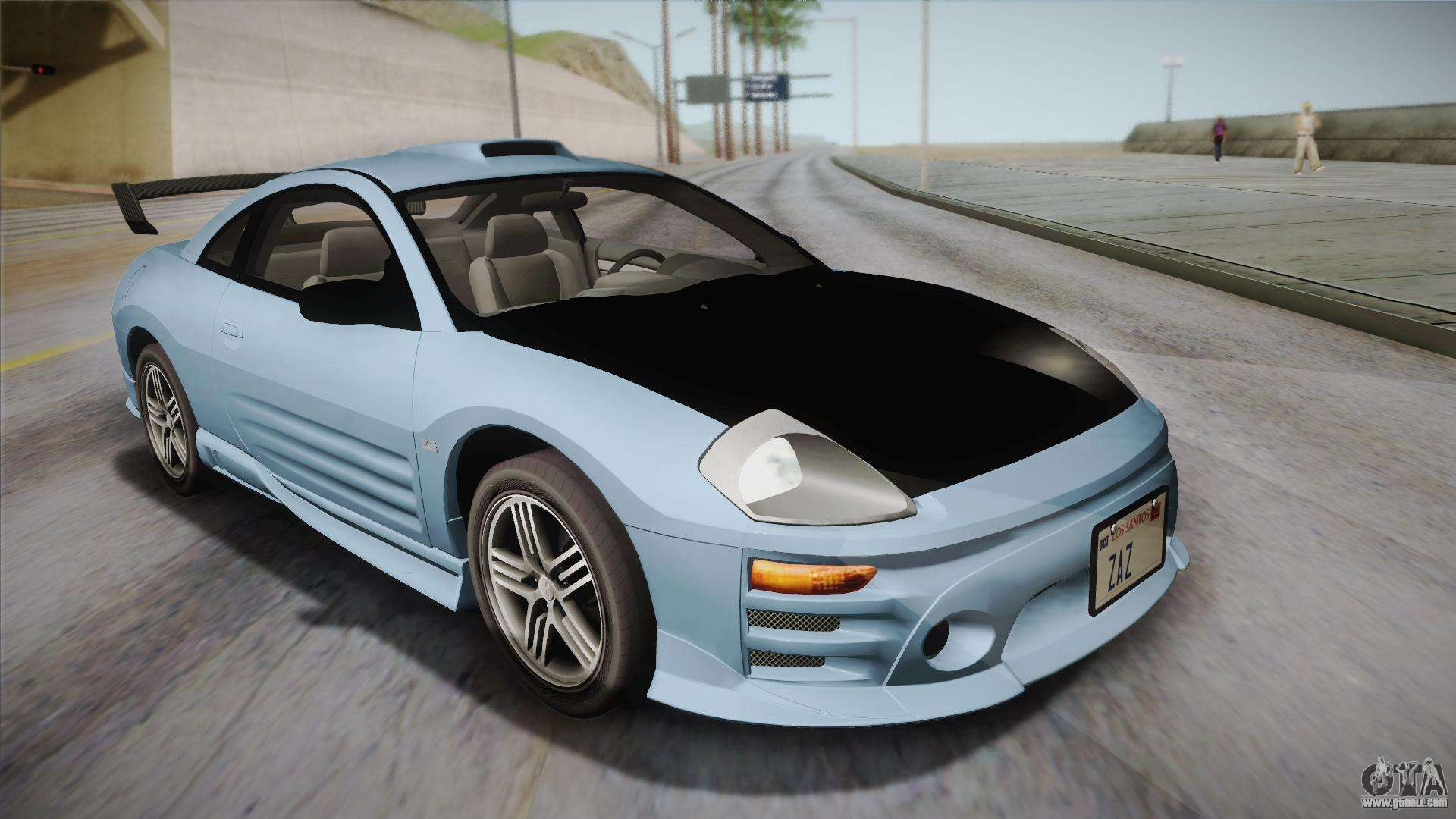 gts gta iii andreas sa hqlm view mkiii eclipse mitsubishi for side san mk cars