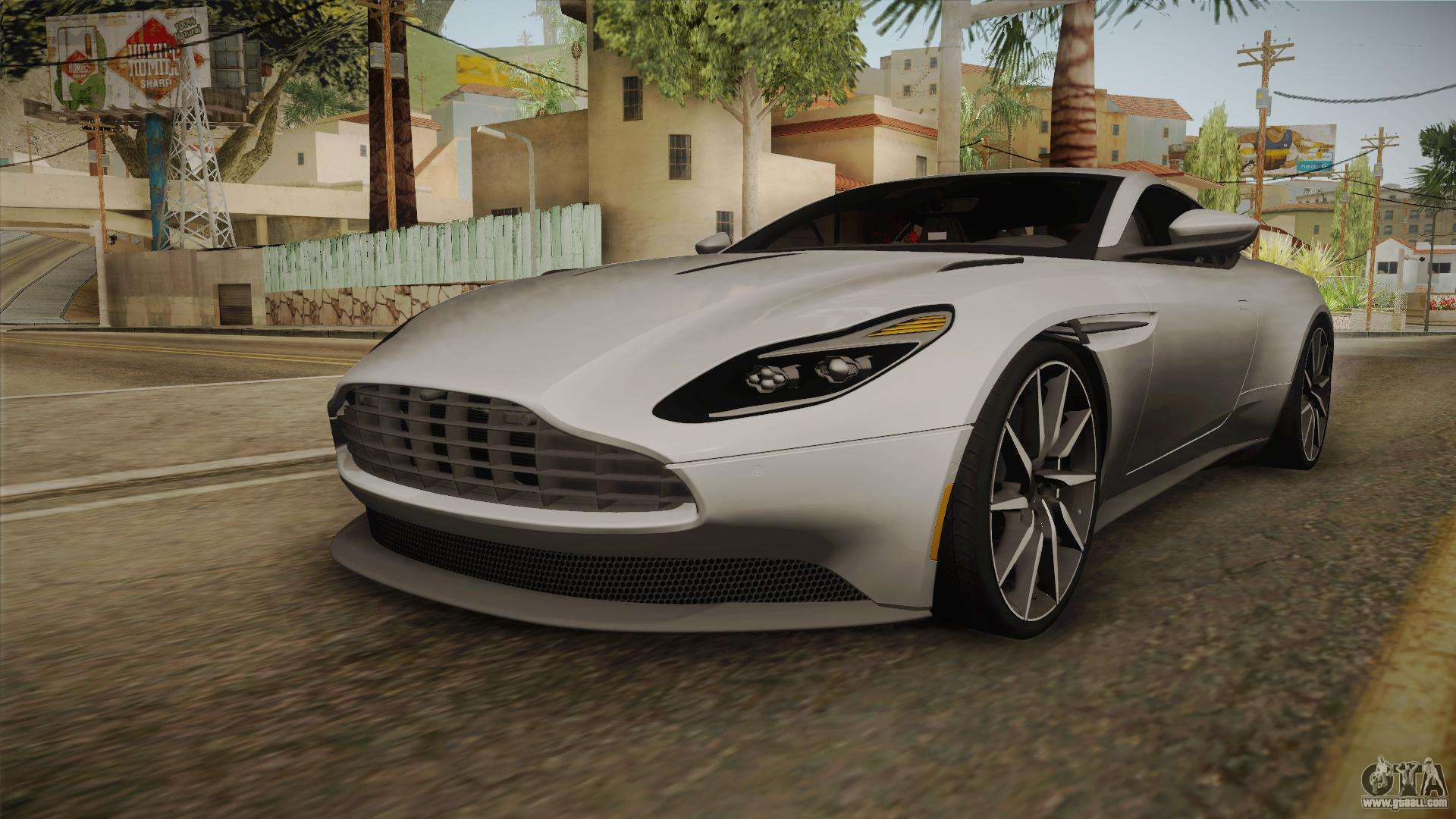 aston martin db11 2017 for gta san andreas
