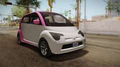 GTA 5 Benefactor Panto 4-doors IVF for GTA San Andreas