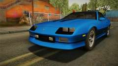 Chevrolet Camaro IROC-Z FBI 1990 for GTA San Andreas