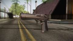 Desert Eagle 50 AE Silver for GTA San Andreas