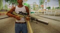 DesertTech Weapon 1 Silenced for GTA San Andreas