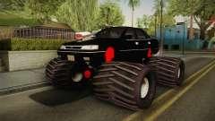 Subaru Legacy 1992 Monster Truck