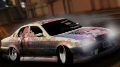 Toyota Cresta ITASHA PROJECT SHELTER RIN for GTA San Andreas