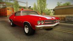 Chevrolet Chevelle SS FBI 1970 for GTA San Andreas