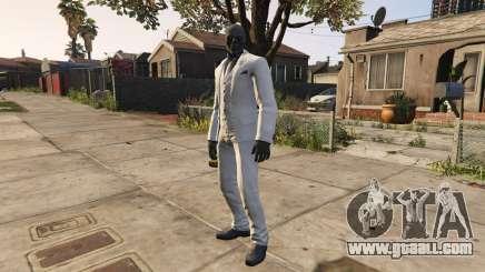 BAK Black Mask for GTA 5