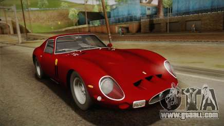 Ferrari 250 GTO (Series I) 1962 HQLM PJ1 for GTA San Andreas