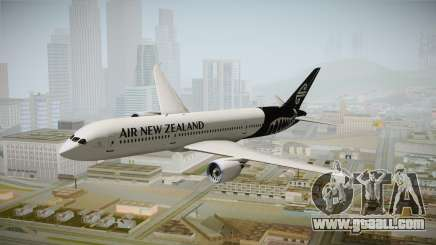 Boeing 787 Air New Zealand White Edition for GTA San Andreas