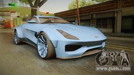 GTA 5 Dewbauchee Specter Custom for GTA San Andreas
