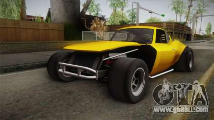 GTA 5 Invetero Coquette Custom for GTA San Andreas