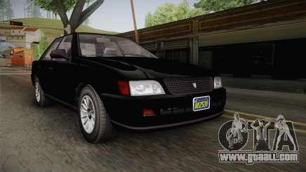 GTA 5 Vulcar Ingot Sedan for GTA San Andreas