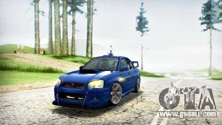 SUBARU IMPREZA WRX STi V.2 (IVF 2.0.2) for GTA San Andreas