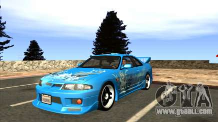 Nissan Skyline GTS25-t Mk.IX [R33] IVF Tunable for GTA San Andreas