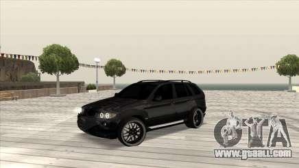 BMW X5 HAMANN for GTA San Andreas