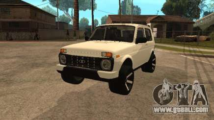 Lada Urban 2016 for GTA San Andreas