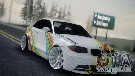 BMW 135i E82 Coupe for GTA San Andreas