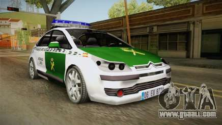 Citroen C4 Guardia Civil for GTA San Andreas