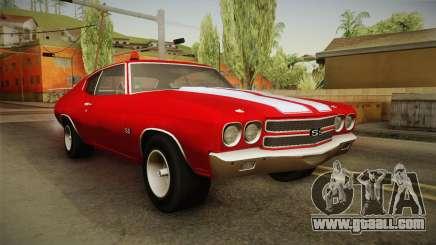 Chevrolet Chevelle SS FBI 1970 for GTA San Andreas