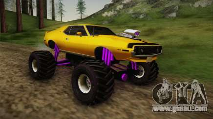 AMC Javelin AMX 401 1971 Monster Truck for GTA San Andreas
