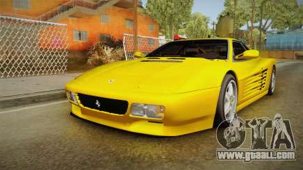 Ferrari 512 TR FBI for GTA San Andreas