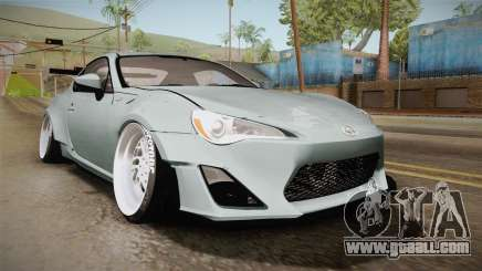Scion FR-S RocketBunny 2013 for GTA San Andreas