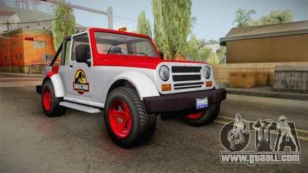 GTA 5 Canis Mesa Jurassic Park IVF for GTA San Andreas