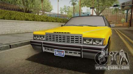 GTA 5 Albany Emperor Custom for GTA San Andreas