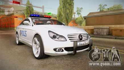 Mercedes-Benz CLS 500 Turkish Police for GTA San Andreas