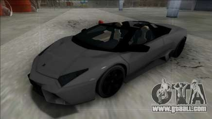2009 Lamborghini Reventon Roadster FBI for GTA San Andreas