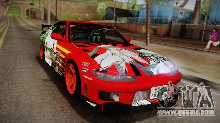 Nissan 180SX Facelift Silvia S15 Hatsune Miku for GTA San Andreas