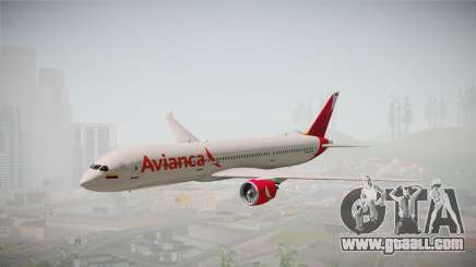 Boeing 787 Avianca for GTA San Andreas