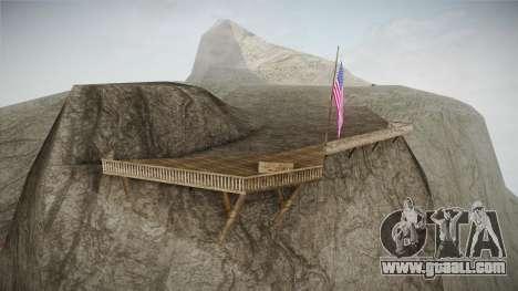 Mount Chiliad Retexture for GTA San Andreas third screenshot