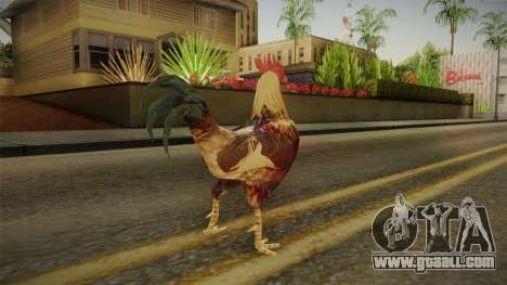 Rooster Galo for GTA San Andreas forth screenshot