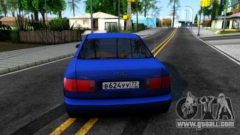 AUDI A8 Long 2002 for GTA San Andreas back left view