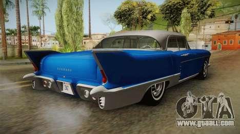 Cadillac Eldorado Brougham 1957 IVF for GTA San Andreas back left view