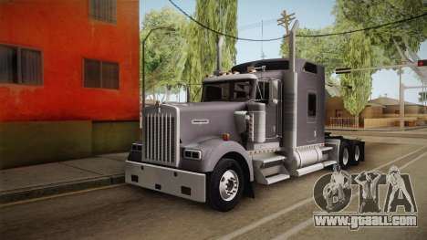 Kenworth W900 ATS 6x4 Cab Normal for GTA San Andreas right view