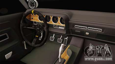 Dodge Challenger MM 1970 for GTA San Andreas inner view