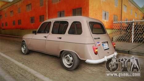 Renault 4 Yugoslav for GTA San Andreas left view